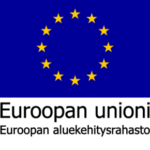 Euroopan unioni euroopan aluekehitysrahasto logo