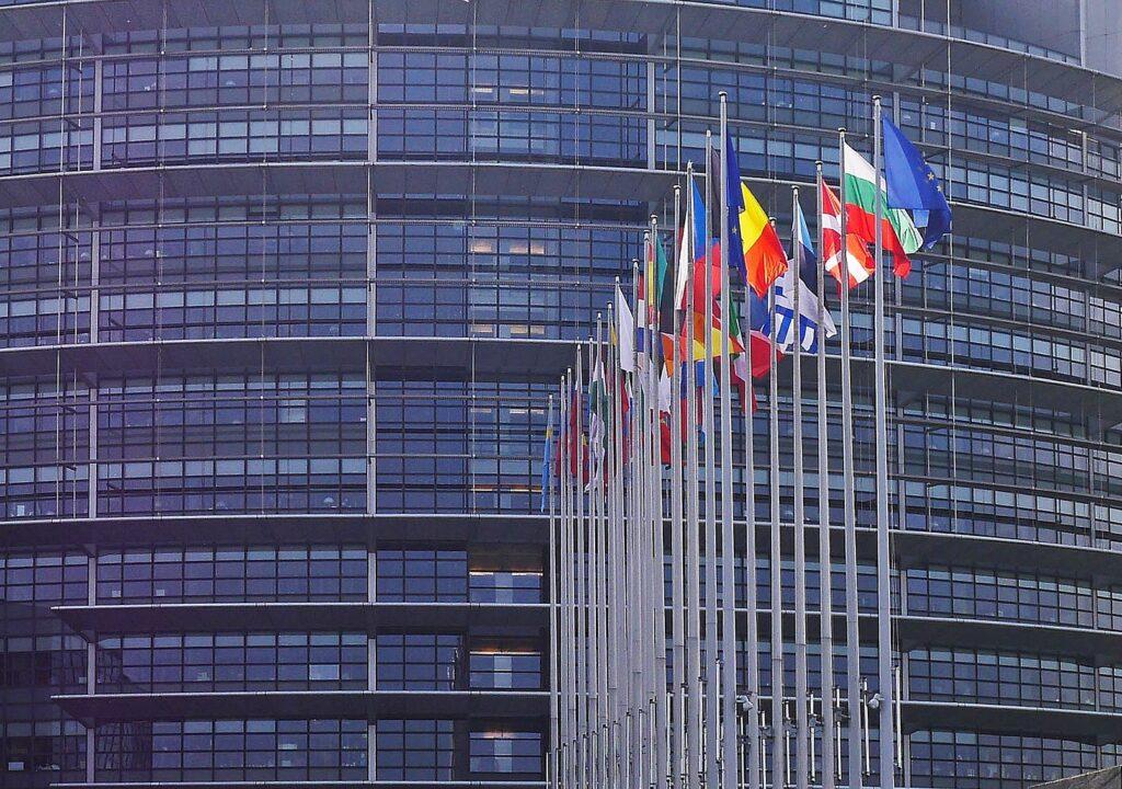 Kuvituskuva euroopan parlamentista