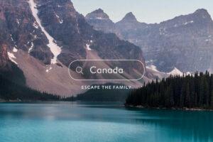 Expedian Escape the family –mainos (Jardine 2020)