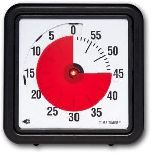 Aikakellon avulla voidaan auttaa hahmottamaan ajan kulkua.